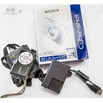 Câmera Sony Cybershot 10.1 Mp + Cartão De Memória + Capa
