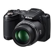 Câmera Semi Profissional Nikon L310 Pouquíssimo Uso