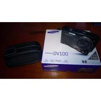 Câmera Digital Samsung Dv100 5x 16.1mp Dual Lcd Hd - Nova
