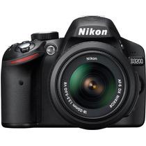 Câmera Nikon D3200 Lente 18-55mm +brinde +nfe +garantia