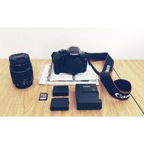 Câmera Canon Eos Rebel T3 + Lente 18-55 Mm + 6 Acessórios