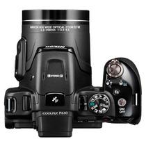 Câmera Nikon Coolpix P610 16.1mp - Zoom 60x Nova Na Caixa