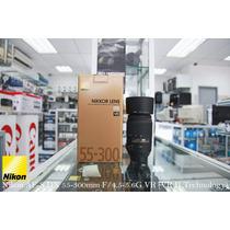 Lente Af-s Dx Nikon Nikkor 55-300mm F/4.5-5.6g Ed Vr Zoom Sp