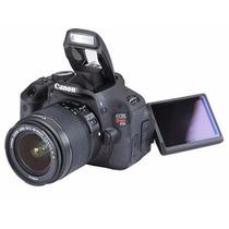 Canon Rebel T3i + Lentes Canon Ef 18-55 + Canon Ef 75-300