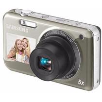 Câmera Dig. Samsung Pl120 14,2mp 2.7lcd 5xzoom + Cartão 8gb