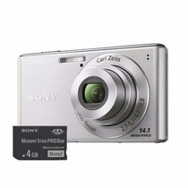 Câmera Digital - Sony Cyber-shot W530 Prata 14.1mp (outlet)