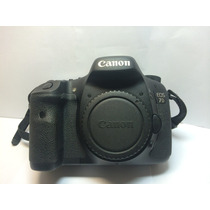 Camera Digital Canon Eos 7d Cmos 16gb Semi Nova Perfeita