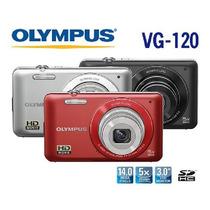 Câmera Olympus Vg-120 14 Mp + Cartão 4 Giga