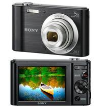 Câmera Digital Sony Cyber-shot Dsc-w800 20.1mp + Cartão 8gi