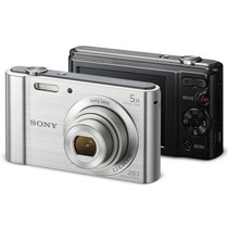 Câmera Digital Sony W800 Cyber Shot 20.1 Mp Tela Lcd Hd 8gb