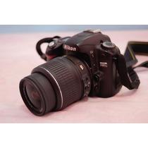 Camera Nikon D80 + Lente Nikkor 18-55 Vr (nova)