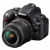 Câmera Digital Nikon D5200 Kit Com Lente Nikkor 18-55mm Novo