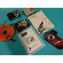 Lote De 4 Câmeras Digitais, Nikon, Mirage, Fuji, Rounda