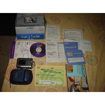 Camera Digital Sony Dsc-s60 Na Caixa C/manual E Cd De Insta