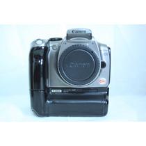 Canon Xt Com Grip, Cartão De Memória E Bateria