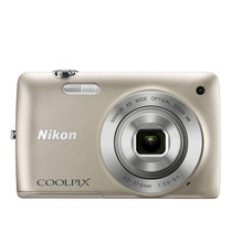 Câmera Digital S4300 16mp Prata - Nikon