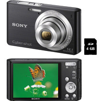 Camera Digital Sony Cyber Shot W620 14.1mp C/ Zoom 4x 4gb