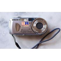 Câmera Digital 5.1 Mp Sony Cyber-shot Dsc-p93a Mpeg Zoom 3x