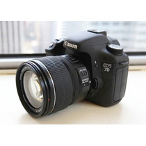 Canon Eos 7d + Lente Efs 18-135mm + 2 Baterias
