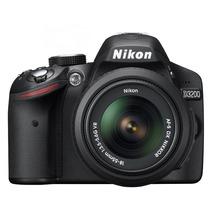 Câmera Nikon D3200 Lente 18 55mm 24mp Na Caixa Com Garantia