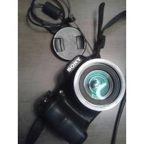 Câmera Digital Sony Cyber-shot 16.1mp Preto - Dsc-h100/b