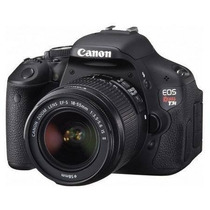 Canon Eos Rebel T3i+18-55mm 32gb Classe 10 12x Sem Juros