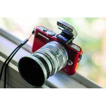 Câmera Olympus Pen Lite E-pl3 Vermelha/vinho