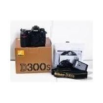 Câmera Nikon Slr D300s Corpo Nova Na Caixa C\ Nfe E Garantia