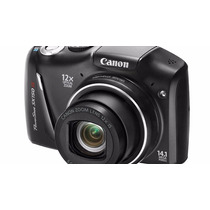 Câmera Digital Canon Power Shot Sx150 Is Preta
