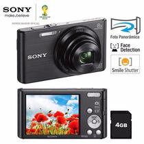 Câmera Digital Sony Dsc-w830 | Preta | 20.1 Megapixels 16 Gb