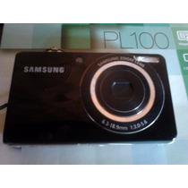 Camera Digital Samsung Pl 100 - 12.2 Mp - Visor Frontal