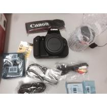 Kit Cânon 600d (t3i) Lente 18 54 Cartão 16 Gb - Aceito Troca