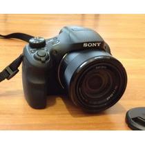 Câmera Sony Dsc-h300, 20.1mp, Zoom 35x, Vídeos Hd+cartão 8gb