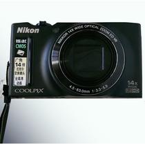 Câmera Nikon Coolpix S8200 + 2 Baterias + Card 4gb + Case