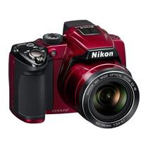 Camera Digital Nikon P500 Vermelha Nova Na Caixa P/ Entrega!