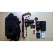 Kit Câmera Canon 7d Com Flash Canon 508ex Ii