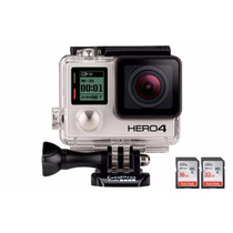 Câmera Digital Gopro Hero 4 Black Adventure 12mp Com Wifi Bl