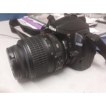 Kit Nikon D3000 Lente 18 55 Cartão 16gb