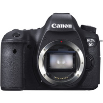 Camera Digital Dslr Canon Eos 6d Corpo - Full Frame 20.2mp