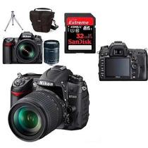 Câmera Nikon D7000 Kit 18-105 + Cartão 32gb + Bolsa + Tripé
