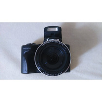 Camera Canon Sx500is Semi Profissional 16mp Zoom 30x Hd