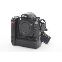 Câmera Nikon D80 Com Grip + 2 Baterias E Carregador Original