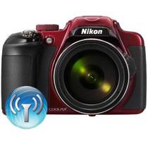 Nikon P600 Vermelho 16.1mp - Lacrada