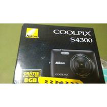 Câmera Digital Nikon Coolpix S4300 C/ Lcd 3,0, 16 Mp