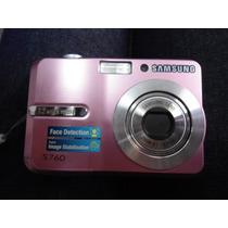 Camêra Digital S760 7,2 Mp - Lcd De 2,4 - Samsung