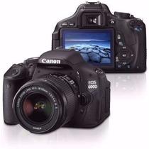 Camera Canon Eos Rebel T3i +18-55 +32gb Clas10+bolsa+ Tripe