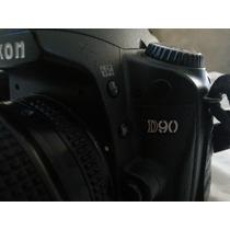 Nikon D90 Semi Nova - + 50mm 1.8d + 3 Baterias