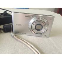 Câmera Digital Sony Dsc W320 - 14.1 Mpx - Prata