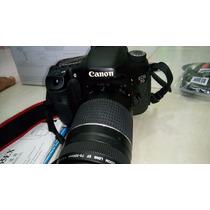 Canon 7d C/18-135mm, 70-300mm, Flash Yn565ex Etc Pouco Uso