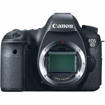 Camera Canon 6d Somente O Corpo Novo